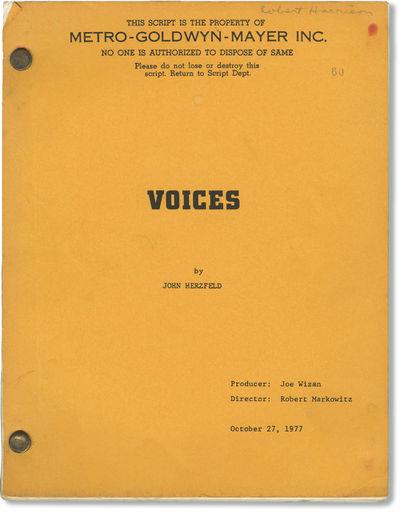 Burbank, CA: Tisch-Davidson Productions, 1979. First Draft script for the 1979 film. Copy belonging ...