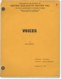 Voices (Original screenplay for the 1979 film)