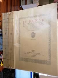 Le papier recherches et notes pour servir a l'historie de papier ; principalement à Troyes et aux environs depuis le quatorzième siècle