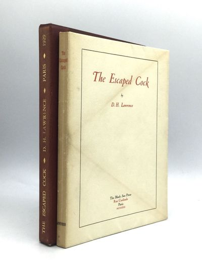 Paris: The Black Sun Press, 1929. First Edition. Wraps. Good. Number 429 of 450 copies printed on Ho...