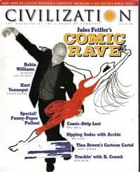Civilization Magazine, June/July 1998 (Cover Story, Jules Feiffer's Comic Rave)