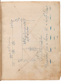 [MANUSCRIPT ACCOUNT BOOK KEPT BY ACCOMPLISHED NEW YORK CABINETMAKER PETER PRINE]