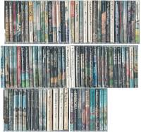 """BALLANTINE ADULT FANTASY"" SERIES 88 VOLUMES: Man Who Was Thursday, Three Imposters, Doom That Came to Sarnath, Lilith, Well at World's End, Night Land, Kai Lung's Golden Hours, Spawn Cthulhu, Gormenghast, Don Rodriguez, Khaled, more"