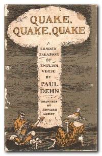 Quake, Quake, Quake A Leaden Treasury of English Verse