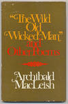 image of The Wild Old Wicked Man and Other Poems
