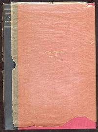 New York: Macmillan, 1934. Hardcover. Fine. First edition. Fine in the original, good glassine dustw...