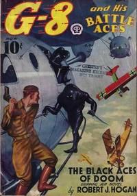 "G-8 AND HIS BATTLE ACES: April, Apr. 1938 (""The Black Aces of Doom"")"