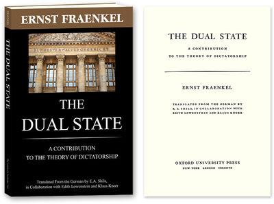 2010. ISBN-13:9781616190699 ISBN-10: 1616190698. Landmark Study of Nazi Law Fraenkel, Ernst. The Dua...