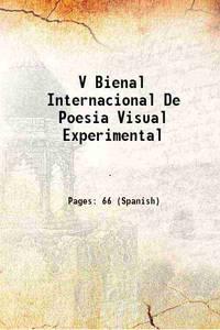V Bienal Internacional De Poesia Visual Experimental