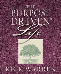 image of The Purpose Driven Life, Journal (Reflections on what on earth am i here for, life prayer journal)