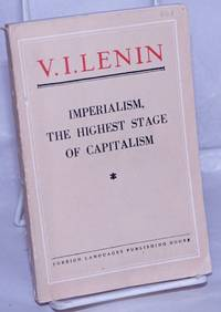 image of Imperialism, the Highest Stage of Capitalism.  A Popular Outline.  Eleventh Impression