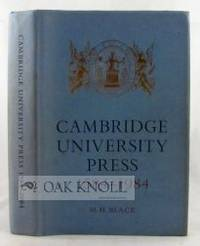 Cambridge: Cambridge University Press, 1984. cloth, dust jacket. Cambridge University Press. 8vo. cl...