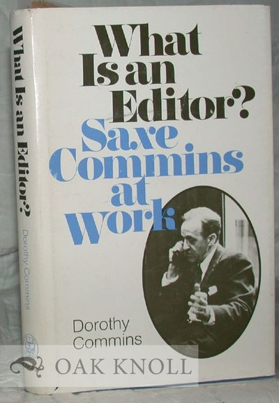 Chicago: Univ. of Chicago Press, 1978. cloth, dust jacket. 8vo. cloth, dust jacket. xv, 243 pages. F...