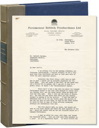 image of Original typed letter signed from Alfred Hitchcock to assistant director Herbert Coleman, regarding