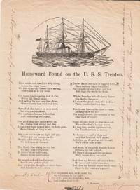 Two Pieces of Shipboard Printing, USS Trenton, 1881.