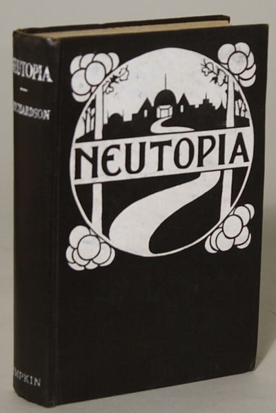 London: Simpkin, 1925. Octavo, pp. 1-304 , original pictorial black cloth, front and spine panels st...