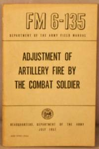 image of Adjustment of Artillery Fire by the Combat Soldier.