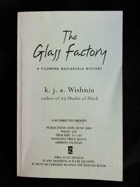 The Glass Factory SIGNED (Advanced Reader's Copy)