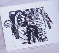 image of [Handlebars Stroked][8.5x11 inch matte b&w print]