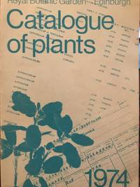 Catalogue of Plants 1974