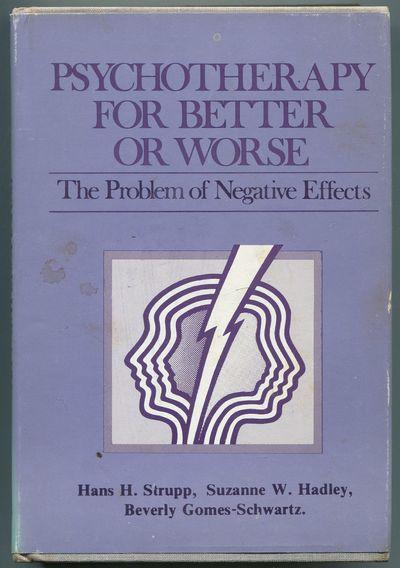 New York: Jason Aronson, 1977. Hardcover. Very Good/Very Good. Octavo. 354pp. Foxing on page edges, ...