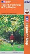 image of Telford, Ironbridge and the Wrekin (Explorer Maps) (OS Explorer Map)