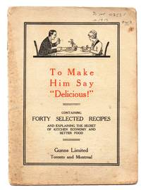 """image of To Make Him Say """"Delicious!"""""""