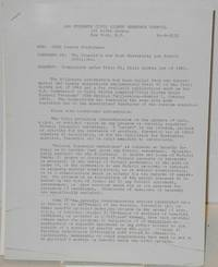 Complaints under Title VI, Civil Rights Act of 1964 For: CORE Lawyer Conference