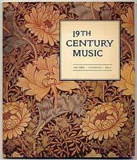 19th Century Music. Fall 1984, Volume VIII, number 2