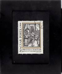 Tchotchke Stamp Art - Collectible Postage Stamp -  500 Years of Printing