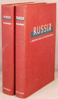 image of Russia, A History and An Interpretation. 2 volumes.