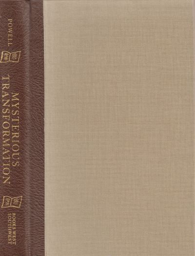 Tucson: Books West Southwest. Fine. 1993. Limited Edition. Hardcover. Tan cloth over quarter leather...