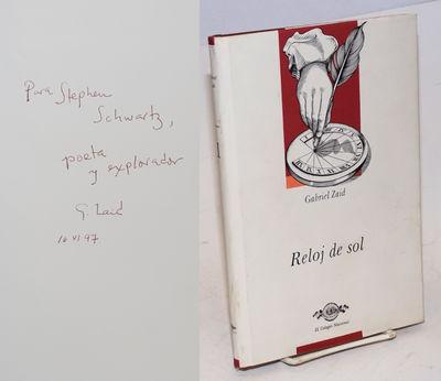 Mexico D.F.: El Colegio Nacional, 1995. Hardcover. Signed, inscribed copy; 125p., expert presswork o...