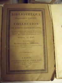 Bibliotheque Classique Latine, Ou Collection Des Auteurs Classiques Latins