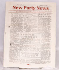 image of New Party News. Vol. 1, no. 3 (August 15, 1945)