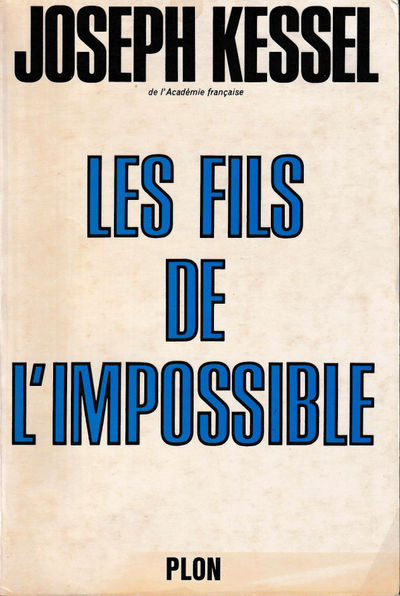 Paris: Plon, 1970. Paperback. Very good. 151 pp. Light creases to the spine, light tanning to the fr...