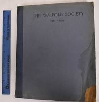 2nd Annual Volume of the Walpole Society, 1912-1913