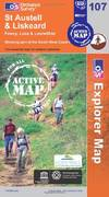 image of St Austell and Liskeard (OS Explorer Map Active)