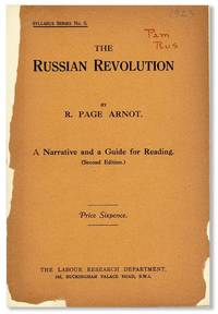 The Russian Revolution [...] A Narrative and a Guide for Reading