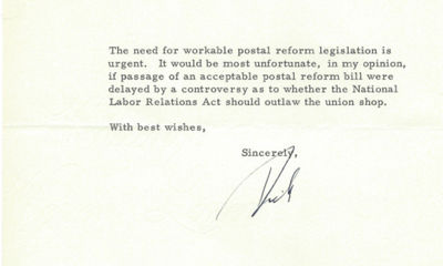 3/6/70. Richard Nixon In May 1969, four months after he became president, Richard Nixon asked Congre...