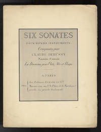 Six sonates pour divers instruments [Score] ... La Deuxième pour Flûte, Alto et Harpe