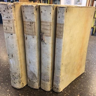 Roma : Nella Stamperia del Komarek, 1762-1768. Hardcover. Octavos, 4 volumes; VG; bound in contempor...