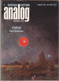 """Analog Science Fiction / Science Fact, August 1967 (Volume 79, Number 6) (""""Starfog"""")"""