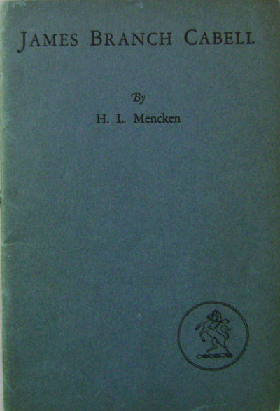 New York: Robert M. McBride & Company, 1927. First edition. Paperback. Very Good. Small wrappered 8v...