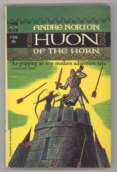 New York: Ace Books, 1963. Small octavo, pictorial wrappers. First paperback edition. Ace Books F226...