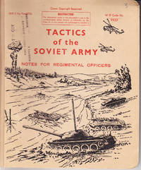 Tactics of the Soviet Army: Notes for Regimental Officers