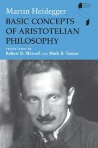image of Basic Concepts of Aristotelian Philosophy (Studies in Continental Thought)