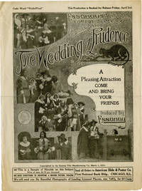 The Wedding of Prudence (Original advertising flyer for the 1914 film) by  Leo White (starring)  Ruth; John Coassar - 1914 - from Royal Books, Inc. (SKU: 143445)