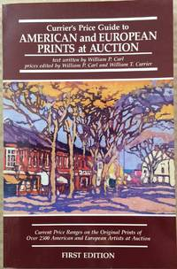 image of Currier's Price Guide to American and European Prints at Auction