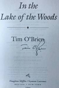 IN THE LAKE OF THE WOODS (SIGNED)